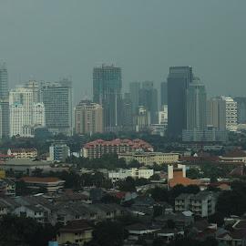 Jakarta by Fuad Arief - City,  Street & Park  Skylines ( Urban, City, Lifestyle )