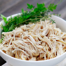 All-Purpose Shredded Crock-Pot Chicken
