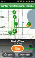 Screenshot of Orlando City Guide