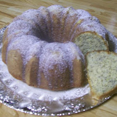 Heart-Healthy Lemon Poppy-Seed Cake