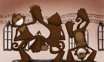Screenshot of Los Monos Bailarines