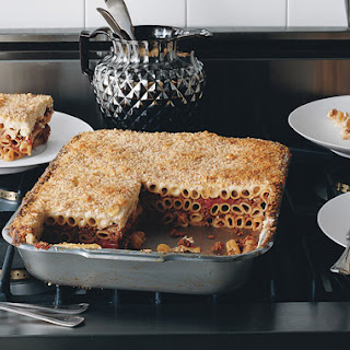 Pasta and Lamb Casserole (Pastitsio)