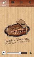 Screenshot of Balada e Viola
