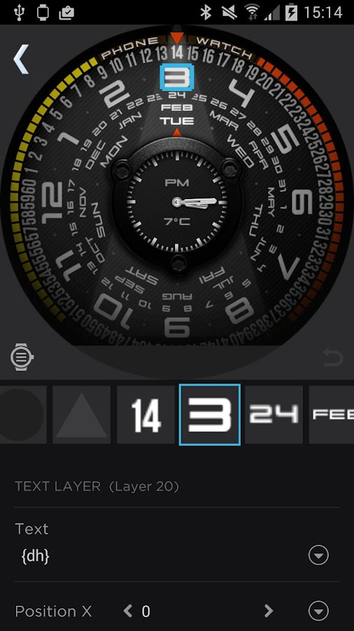 WatchMaker Watch Faces Screenshot 1