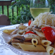 Chicken and Mushroom Pasta