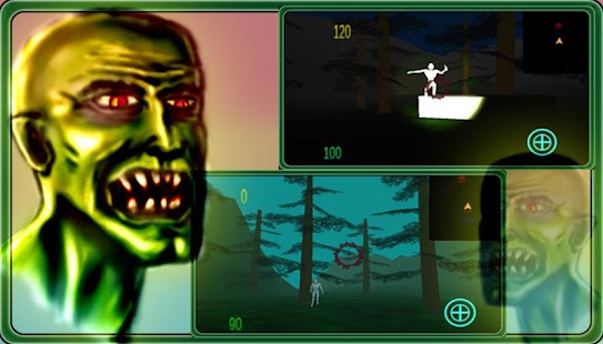 Dirty Zombies : Gyro Shooter - screenshot