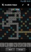 Screenshot of Scrabble Helper Pro
