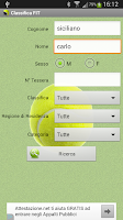 Screenshot of Tennis - Classifica FIT 2014