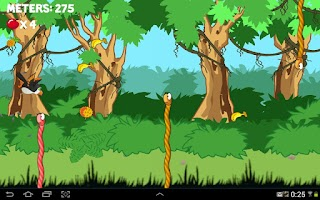 Screenshot of Jungle Clumsy Birds