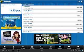 Screenshot of Cinépolis App