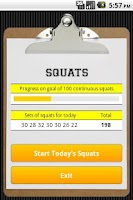 Screenshot of Squats