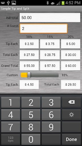 【免費財經App】Simple Tip and Split-APP點子