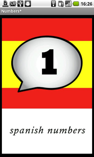 Spanish Numbers Demo