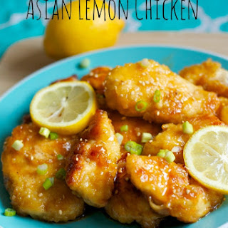 Asian Lemon Chicken