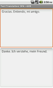 Eng-Spa-Ger Offline Translator - screenshot
