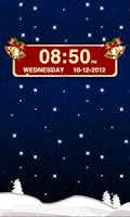 Screenshot of Christmas Clock Widget