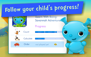 Screenshot of Numbers & Addition! Math games