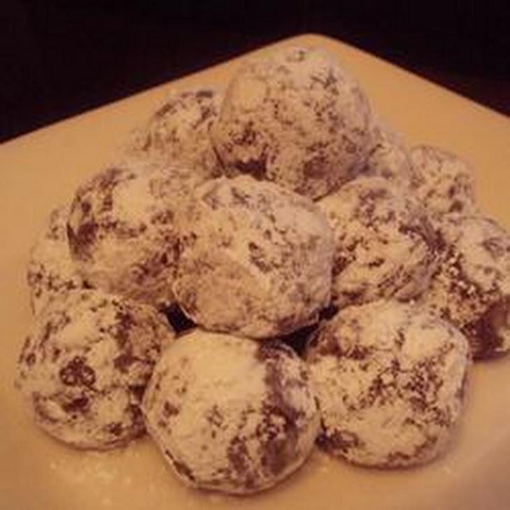 Cherry Bourbon Balls