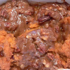 Eggless Sweet Potato Casserole