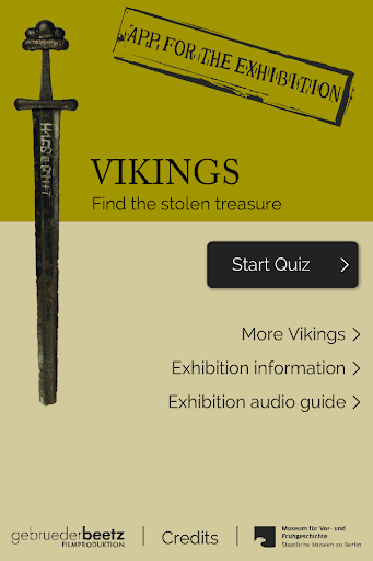 The Vikings - Treasure Quiz - screenshot