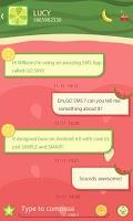 Screenshot of GO SMS PRO WATERMELON THEME