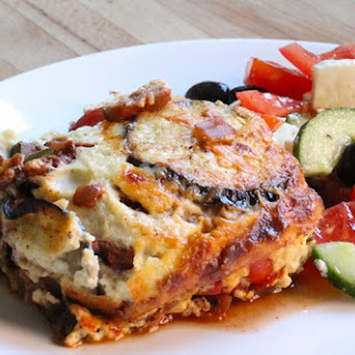 Mediterranean Vegetable Moussaka - National Vegetarian Week