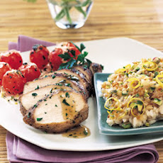 Spice-Rubbed Chicken Breasts with Lemon-Shallot Sauce