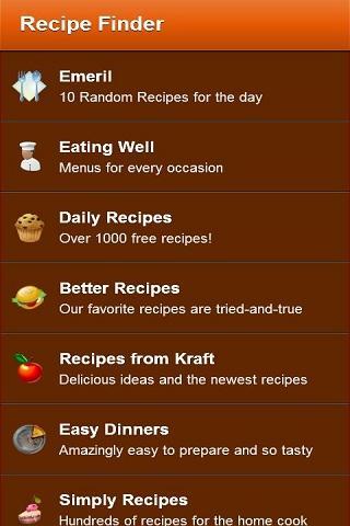 玩生活App|Recipe Finder Lite免費|APP試玩