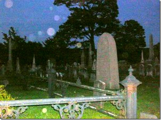 More orbs at the cemetery