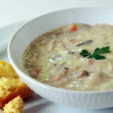 Vegetable, Barley and Chicken Chowder