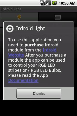 Irdroid light