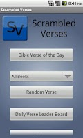 Screenshot of Scrambled Verses FREE