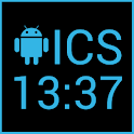 ICS Digital Clock Widget