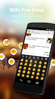 Screenshot of Hebrew for GO Keyboard - Emoji