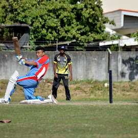 by Paulus Soegriemsingh - Sports & Fitness Cricket