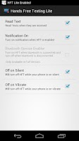 Screenshot of HFT Lite (Hands Free Texting)