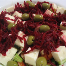 Peasant Salad from Cyprus (Choriatiki)