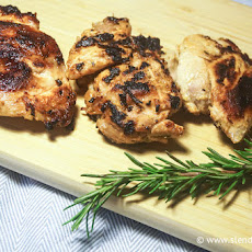 Lemon Herb BBQ Chicken With Sweet Mesquite Beans Recipes — Dishmaps