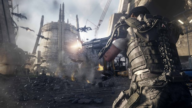 Call Of Duty: Advanced Warfare takes out the Golden Gate Bridge in the latest single player gameplay footage, watch it here