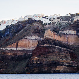 Corfu Dawn by Donald Henninger - Novices Only Landscapes ( cliffs, mountain, volcano, nature, greece, tourism, rock, travel, rock formation, cruise, travel photography, island )