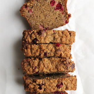 Brown Butter Banana Cranberry Bread