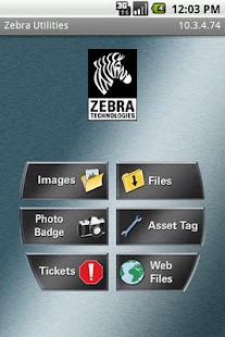 Zebra Utilities - screenshot