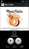 Screenshot of Music Radio (ร็อค สตริง สากล)