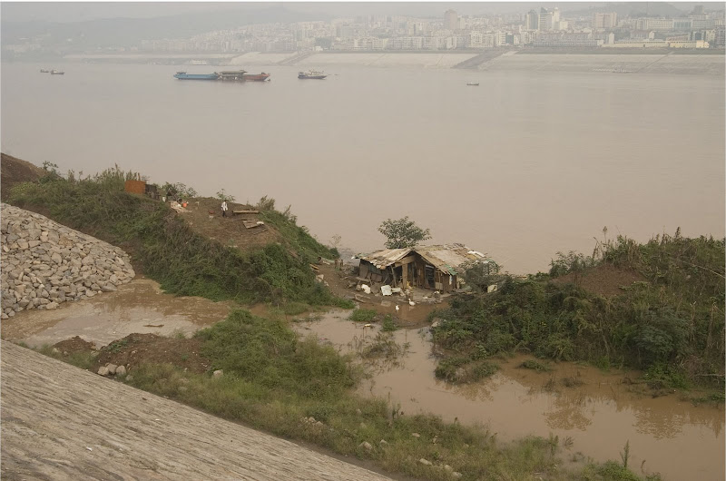 The Yu home is flooded by the rising river in UP THE YANGTZE