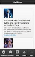 Screenshot of Ultimate Niall Horan
