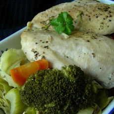 Crock Pot Low Calorie Lemon Chicken