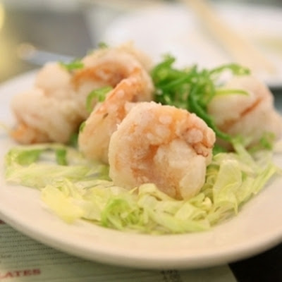 Salt Baked Shrimp