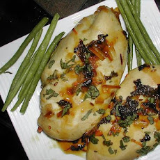 Chicken Breasts in (Aeolian) Island Aromatics