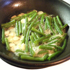 Sauteed Garlic Glazed Green Beans