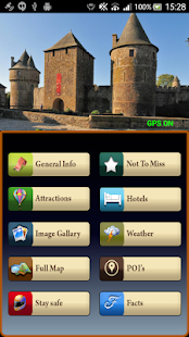 Fougeres Offline Map Guide - screenshot